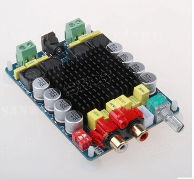 TDA7498 amplifier board power amplifier board digital two-channel stereo amplifier computer 2X100W