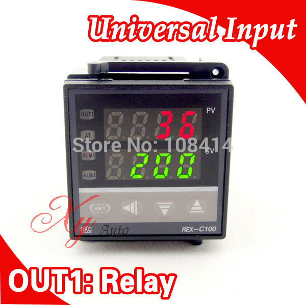 48*48mm RKC Digital Temperature Controller Thermostat K/J/E/S/R/PT100 Input, Relay Output for Egg Incubator