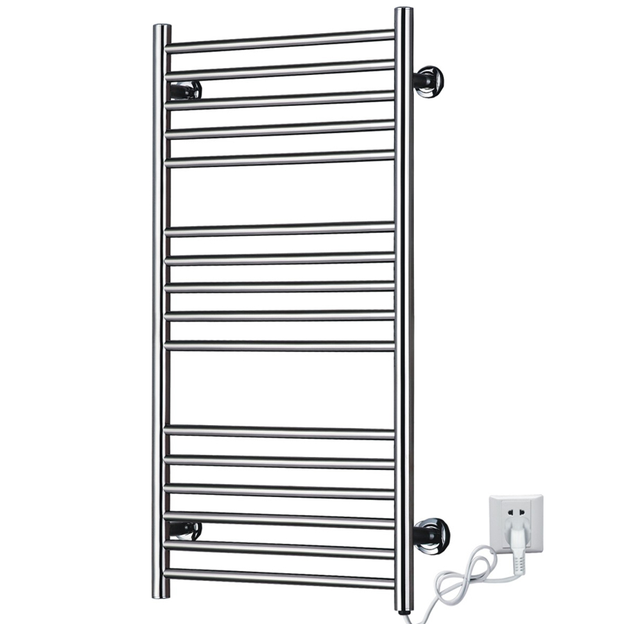 Heated Towel Racks Towel Rail, Stainless Steel Electric Wall Mounted Towel Warmer Holder Dryer, Bathroom Accessories Heater
