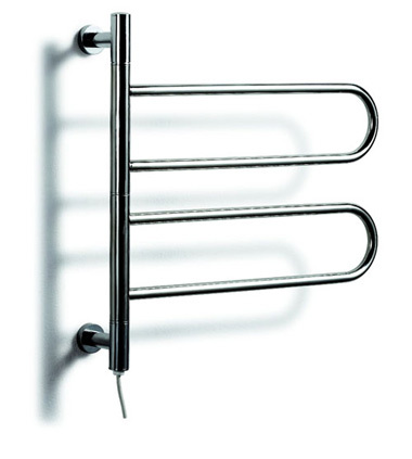 Heated Towel Rail, Stainless Steel Electric Wall Mounted Towel Warmer, Bathroom Accessories Towel Racks