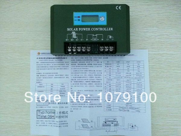 CE&RoHS Certificate LCD and LED Display 48V 40A Solar tracer 40a