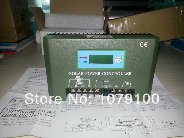 CE&RoHS Certificate LCD and LED Display 48V 30A solar charger controller