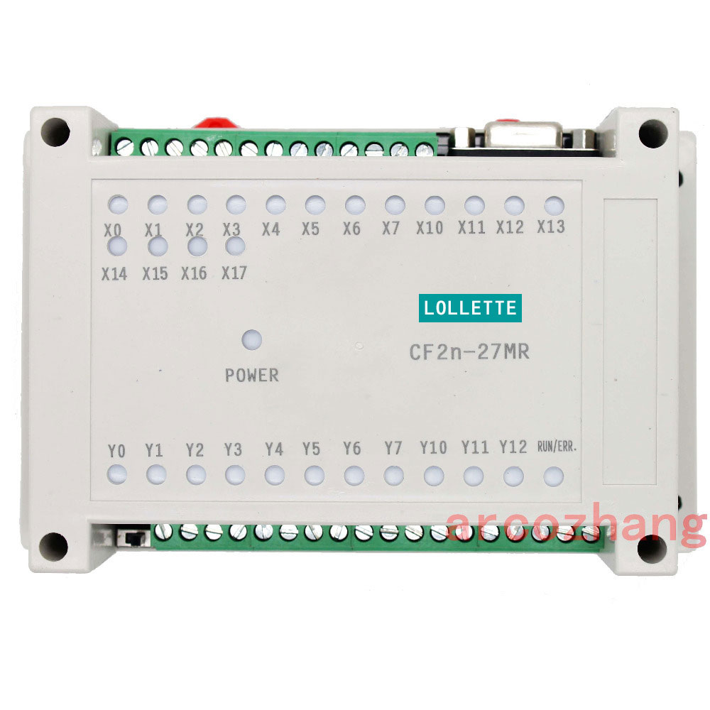FX2N CF2N 27MR programmable logic controller 16 input 11 relay output plc controller automation controls plc system