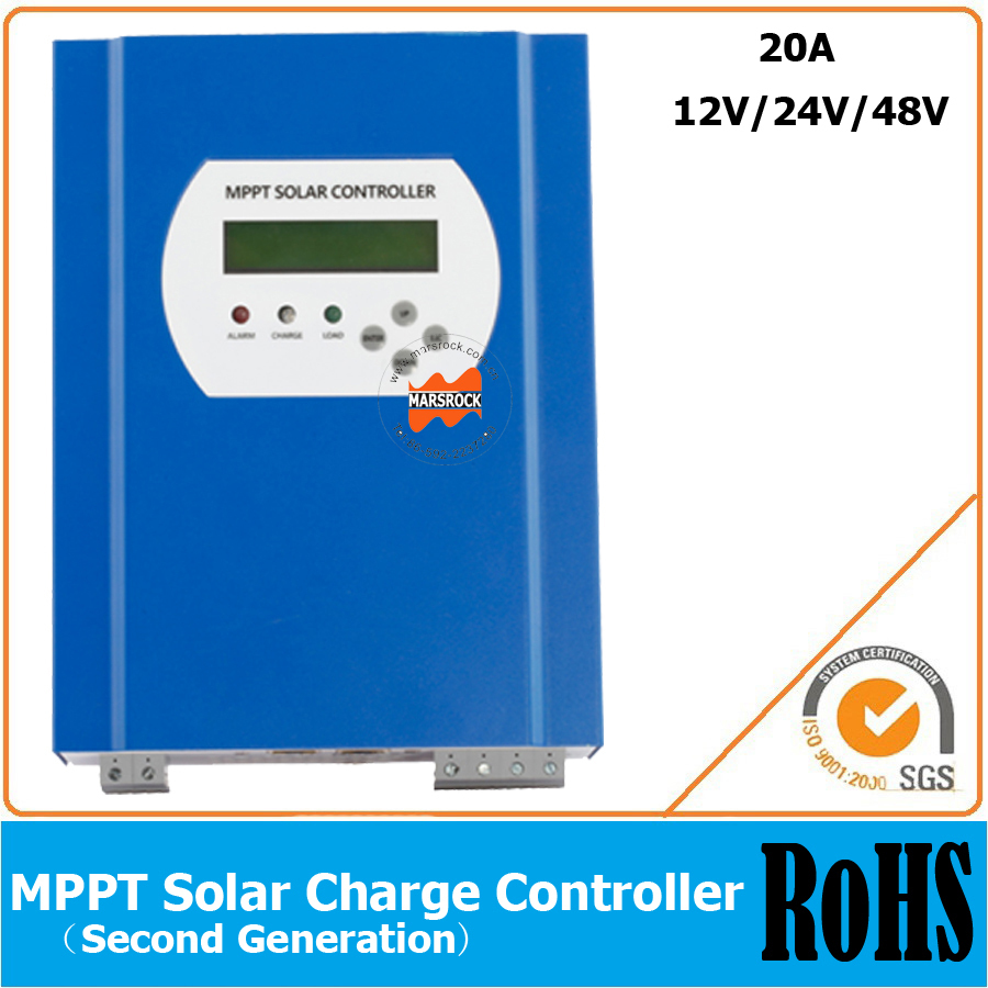 20a 12v 24v 48v Automatic Recognition Mppt Solar Charge Controller Panel Regulator Safe Protection With Rs232 And Lan