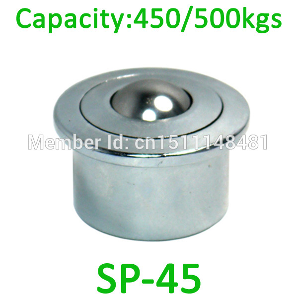 SP45 500kg capacity Heavy Duty Ball transfer unit SP-45 air cargo type conveyor roller assembly table platform bearing caster