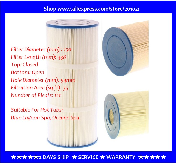 Hot Tub Filter FD2093 / SG7305 Suitable for  S&G WeiKai Blue Lagoon Spa, Oceane Spa