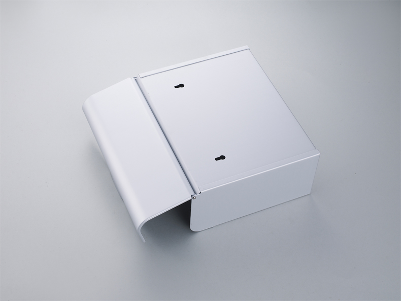 Bathroom Accessory Toilet Paper Holder Box With Cover Square Box Avoid Pets Tearing Space Aluminum Anti-rust