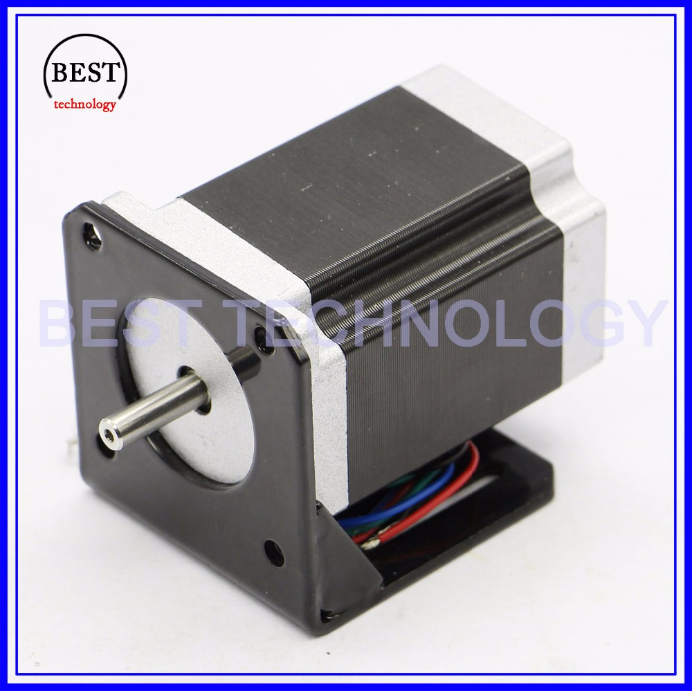 NEMA 23 57 Steppr Motor Accessories Bracket Support Shelf  Mounting L Bracket Mount Nema23 motor holder Stepper motor bracket