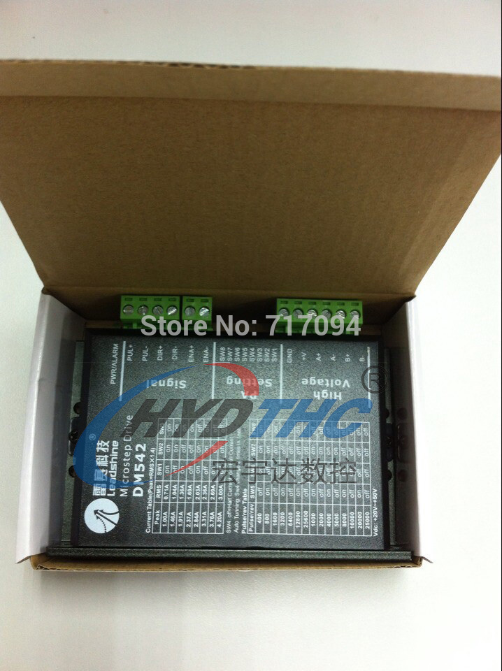 Leadshine DM542 Digital Stepper Motor Driver 20-50 VDC