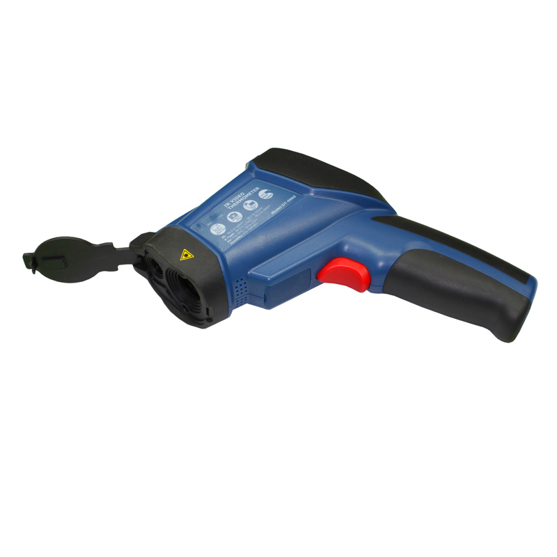 infrared thermometer video infrared thermometer  ir thermometer Can camera take photos DT-9860 Thermal imager