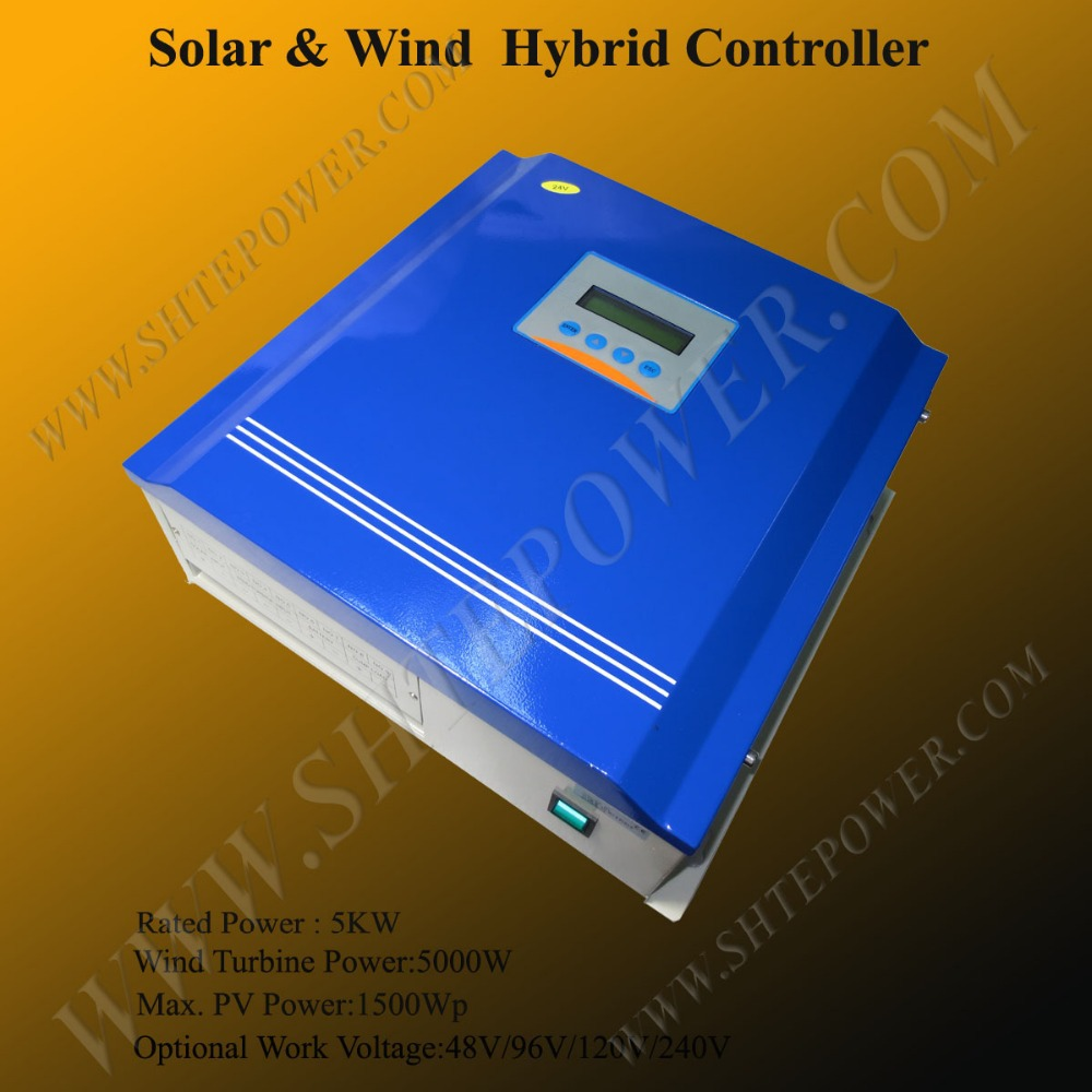 5kw wind solar controller 5000w 120v high voltage solar charge controller hybrid solar charge controllers