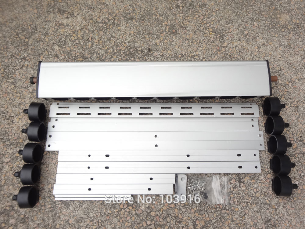 1 pcs of manifold with bracket for solar collector (tube 58*500mm), for solar water heater