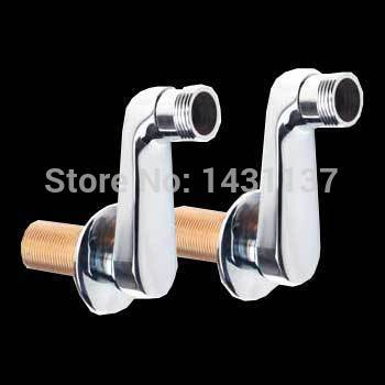 brass material bathroom  tub supply lines bathroom faucet accessories