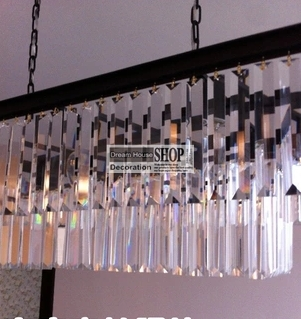 K9 clear glass chandelier crystals size 22mm*150mm with one hole