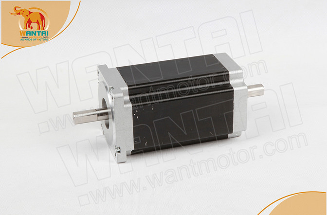 Ship From DE! Wantai 1 Axis Nema34 stepper Motor 85BYGH450C-012B Dual Shaft 1600oz-in 3.5A+Driver DQ860MA 7.8A 80V CNC Router