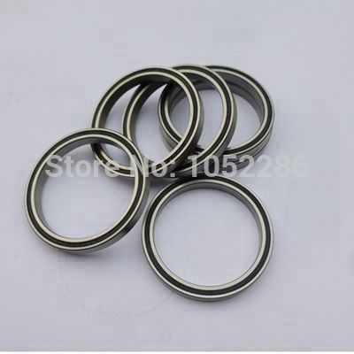 20pcs/lot  6809-2RS  thin wall bearing  6809  6809RS  61809-2RS  rubber sealing deep groove ball bearings 45x58x7 mm