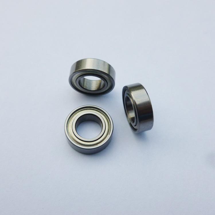 604ZZ Metal Double Shielded High Precision Ball Bearing 10 PCS 4x12x4 mm