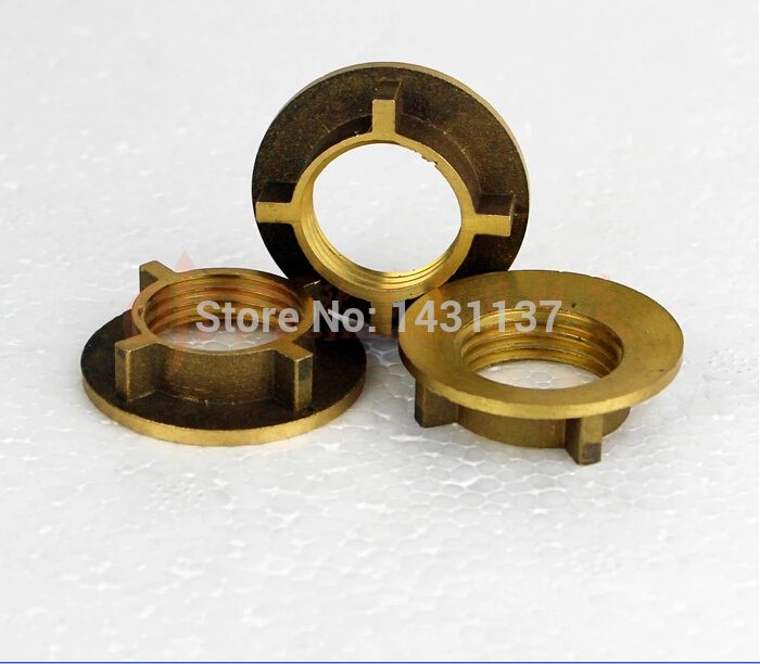 brass material 1/2' thick  bathroom faucet install parts faucet accessories,plumbing hardware