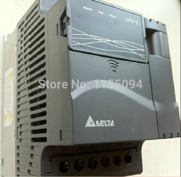 VFD007E11A Delta VFD-E inverter AC motor drive 1 phase 110V 750W 1HP 4.2A 600HZ new in box