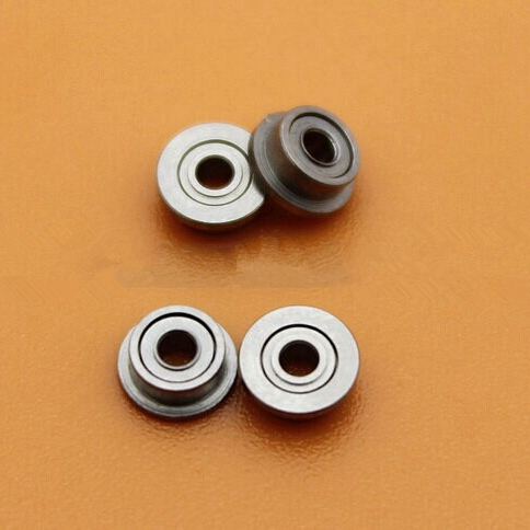 50pcs/lot  Flange bearing  MF52ZZ  2*5*2.5 Shielded Miniature deep groove Ball Bearings  2x5x2.5 mm