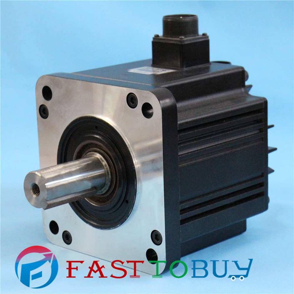 2KW CNC Delta AC Servo Motor 400V  9.55NM 2000r/min 130mm Keyway brake