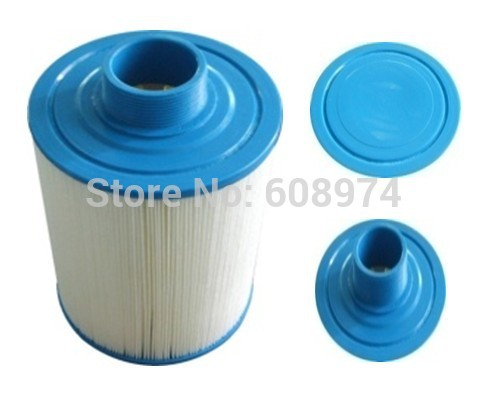 Water filter for Jazzi pool 2011 version Cartridge filter, hot tub paper filter for chinese spas, 175mmx43mm,50.8mm MPT thread