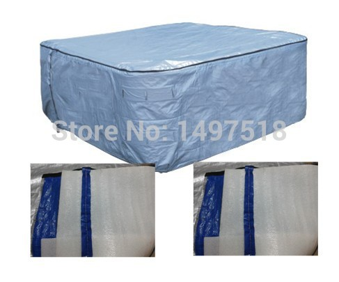 hot tub cover bag with size 244cmx244cmx90cm,   thermo spa cover bag  with isolation esp for Switzerland,netherlands,Belgium