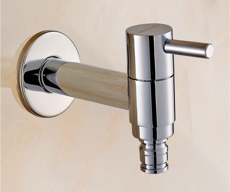 Modern Fashion Garden brass Fast open faucet/ Wall Mounted Taps /Bibcocks Cold Water Faucet /Mop Pool Taps