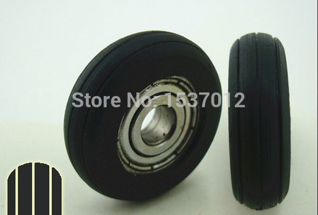 Multi-column groove 5*23*7 plastic bags nylon injection molding plastics Window Pulley / Nylon Wheel