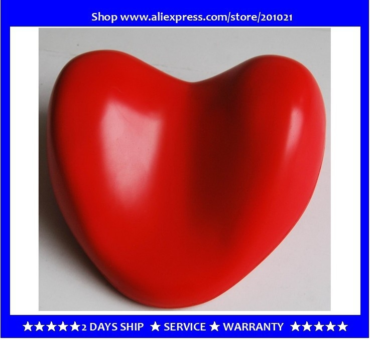 hot tub headrest heart-shape bath pillow Red color