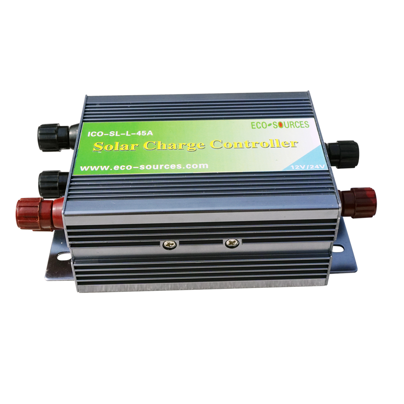 45A PWM Solar panel controller Solar Charge Controller Regulator 12V/24V Battery Charging for 1kw solar system
