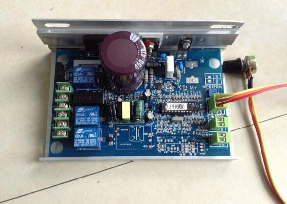 High power 220V DC 50W-2000w DC motor spindle motor speed controller board