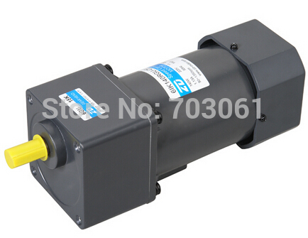 180W 220v AC speed regulating motor AC speed control gear motor  AC gear motor ratio 180:1