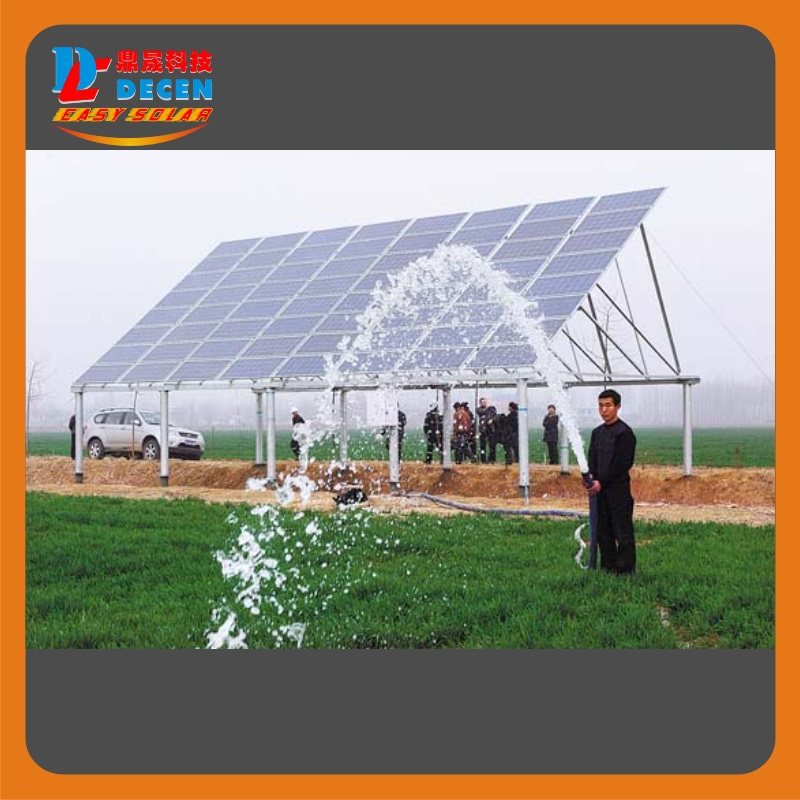DECEN@ 750W Water Pump+1500W Solar Pump Inverter For Solar Pump System Adapting Water Head(29-19m)Daily Water Supply(20-40m3)