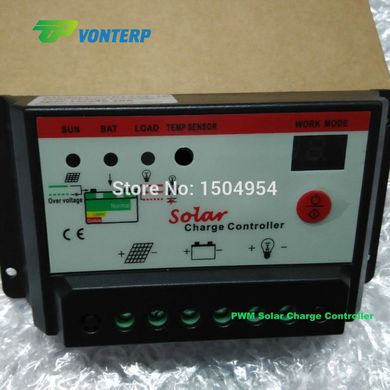 30A 48v Best solar product hot sell intelligent pwm solar charge controller