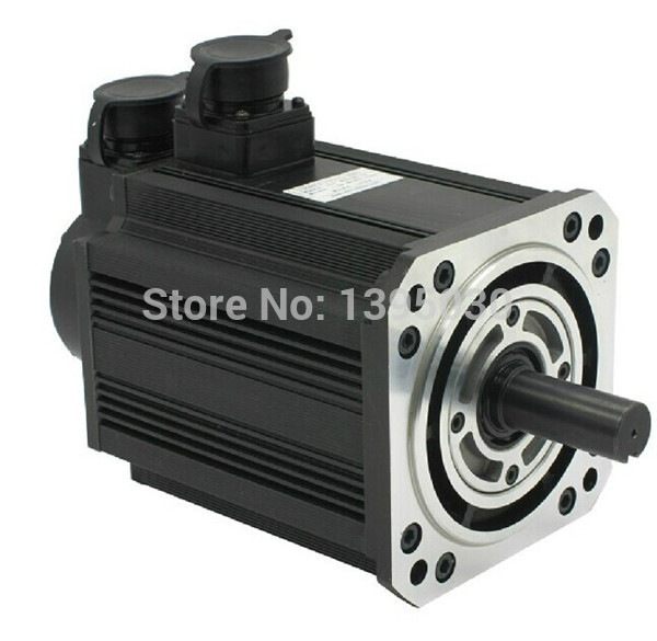 (130ST-M07725) Servo Motor 2KW 7.7N.M 2500rpm 130ST Single-phase AC Servo Motor+Matched Servo Driver With CE Certification