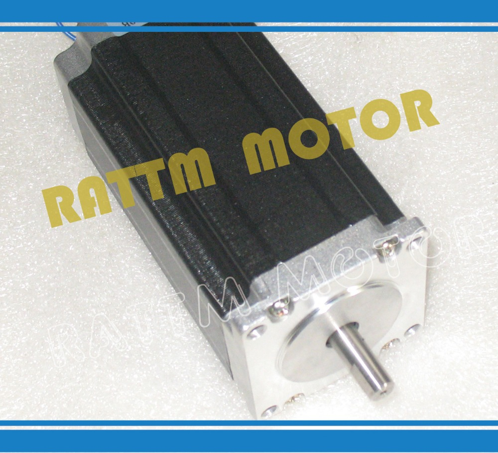 1set NEMA23 112mm/3.0A 425 oz-in stepper motor  & driver with 256 microstep and 4.5A current