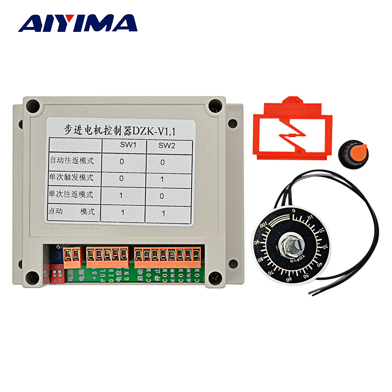 New Upgrade Single-axis Controller / Stepper Motor Controller / Pulse Generator / Potentiometer Speed DZKJ-1.0