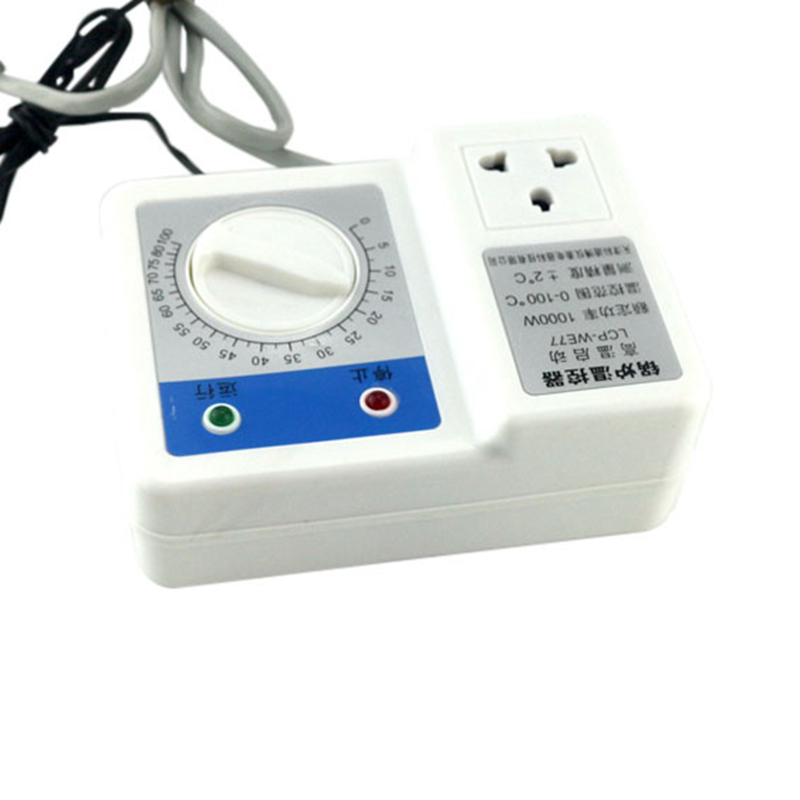 220V 1000W Boiler Thermostat Regulator Circulating Pump Machanical Temperature Controller Intelligent Control with Sensor