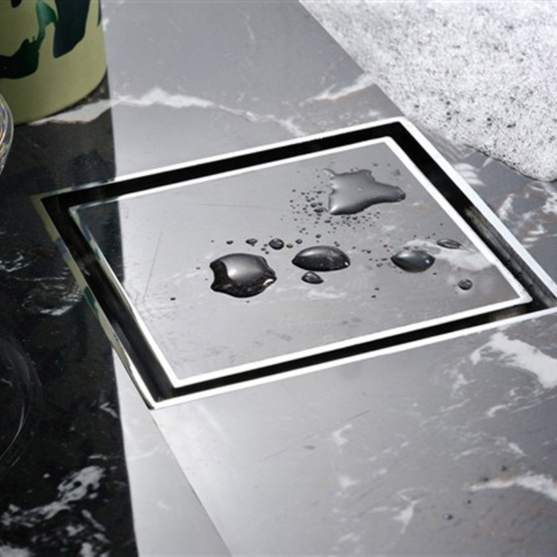 High Quality Tile Insert Square Floor Waste Grates Bathroom Shower