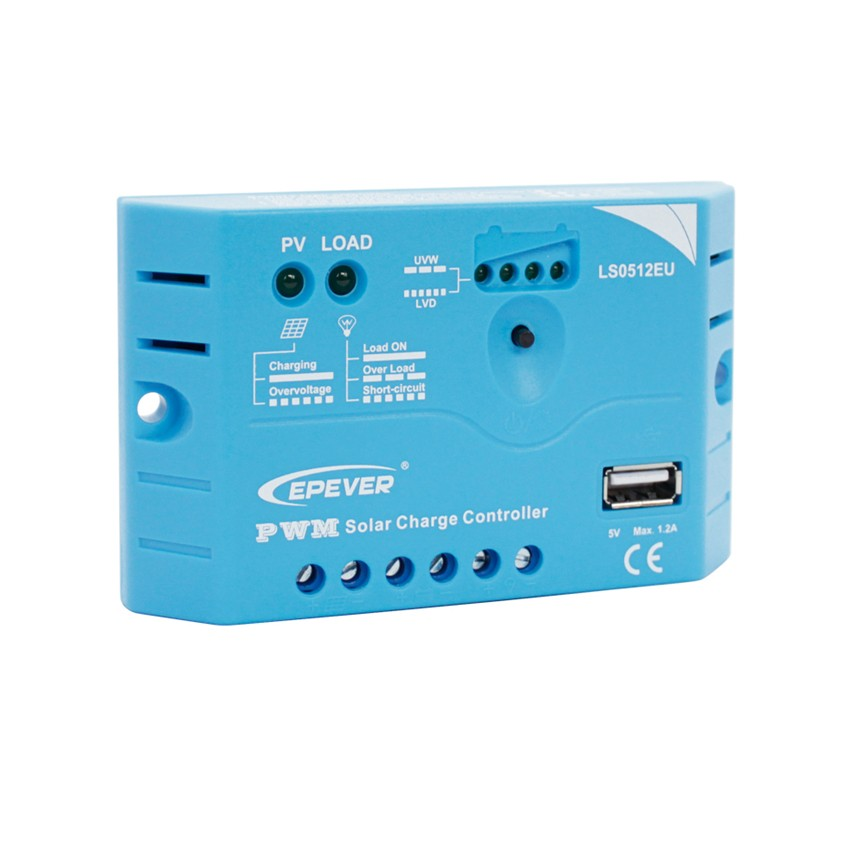 EPSOLAR LS0512EU 5A 12V EP EPEVER PWM LandStar Solar Charge Controller Regulators With 5V USB