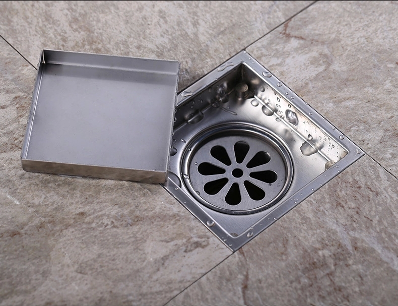 Tile Insert Square Floor Waste Grates Bathroom Shower Drain 110 X