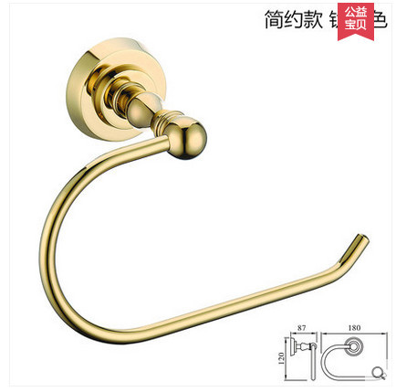 bathroom luxury crystal gold plated paper towel rack hardware accessories European toilet rack tissue box freeshipping