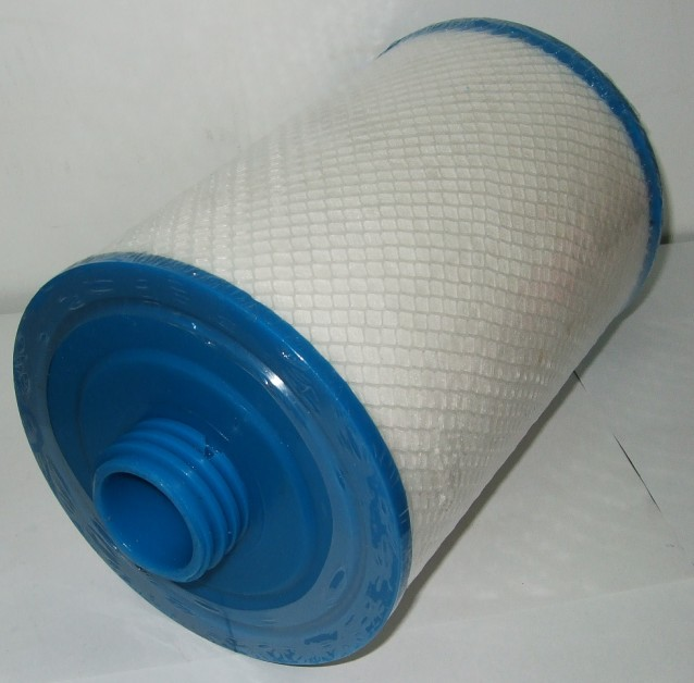 RD800 - 2150 Denicor Arcadia spa hot tub filter Course thread Outside diameter: 152mm Length: 207mm Top: handle Meltblown