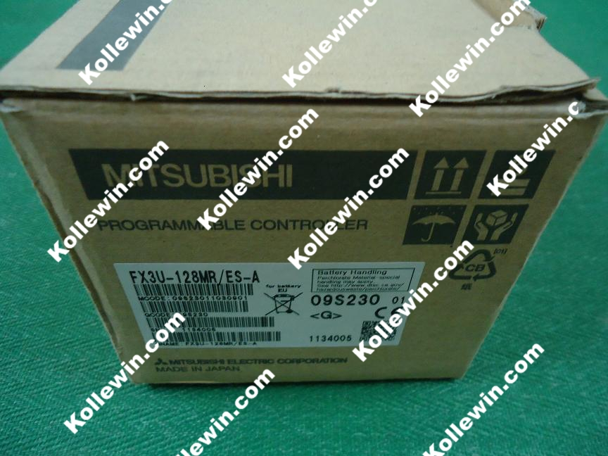 FX Series PLC Module FX3U-128MR/ES-A,64 Input 64 Relay Output,100-240V AC FX3U-128MR/ESA,FX3U128MR/ESA, FX3U128MRESA NEW in box