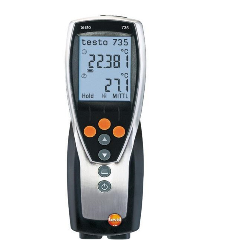 Testo 735-1 Digital Humidity Temperature Tester Meter Hygrometer  Temperature Instruments