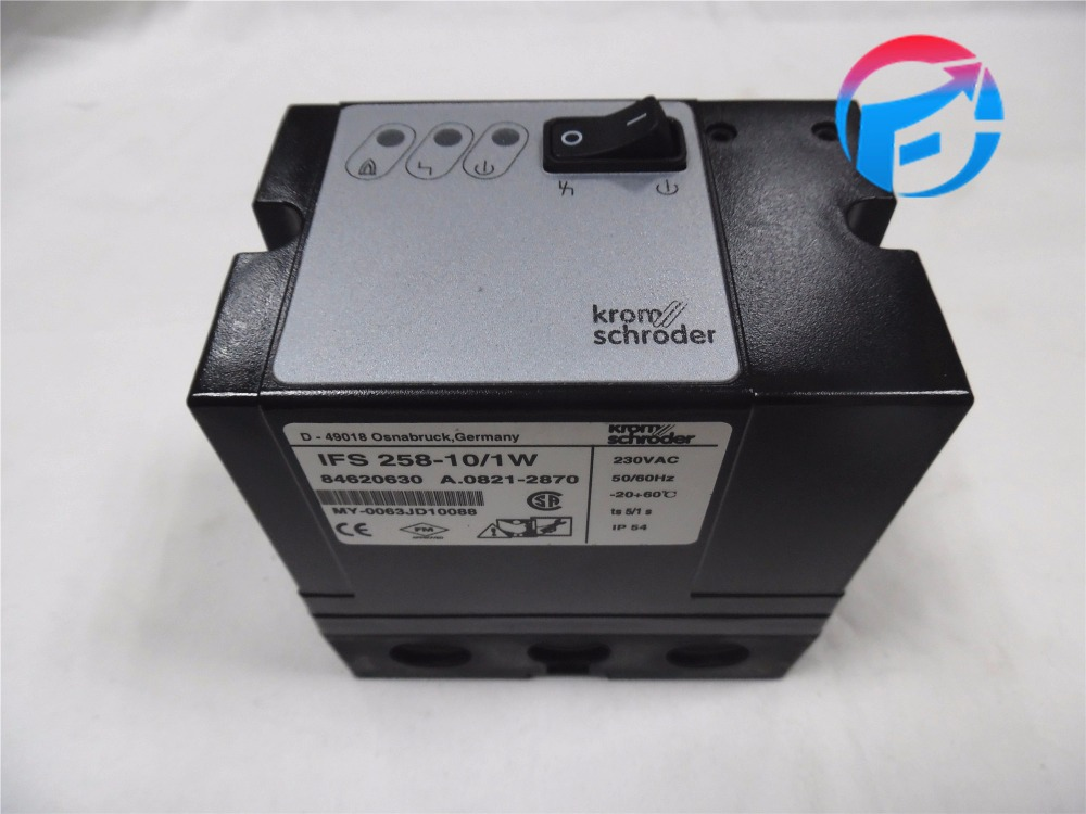 Kromschroder IFS258-10/1W Control Box For Burner Controller Automatic Burner Control