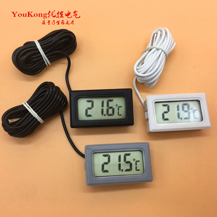 TPM-10 LCD Digital Temperature Meter for Freezer Indoor Outdoor Thermometer aquarium Electronic thermometer display refrigerator