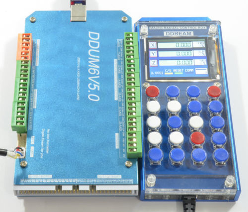 5 AXIS CNC 200KHz USB Mach3 Card Controller With Mach3 Remote Control Step Controller and Driver