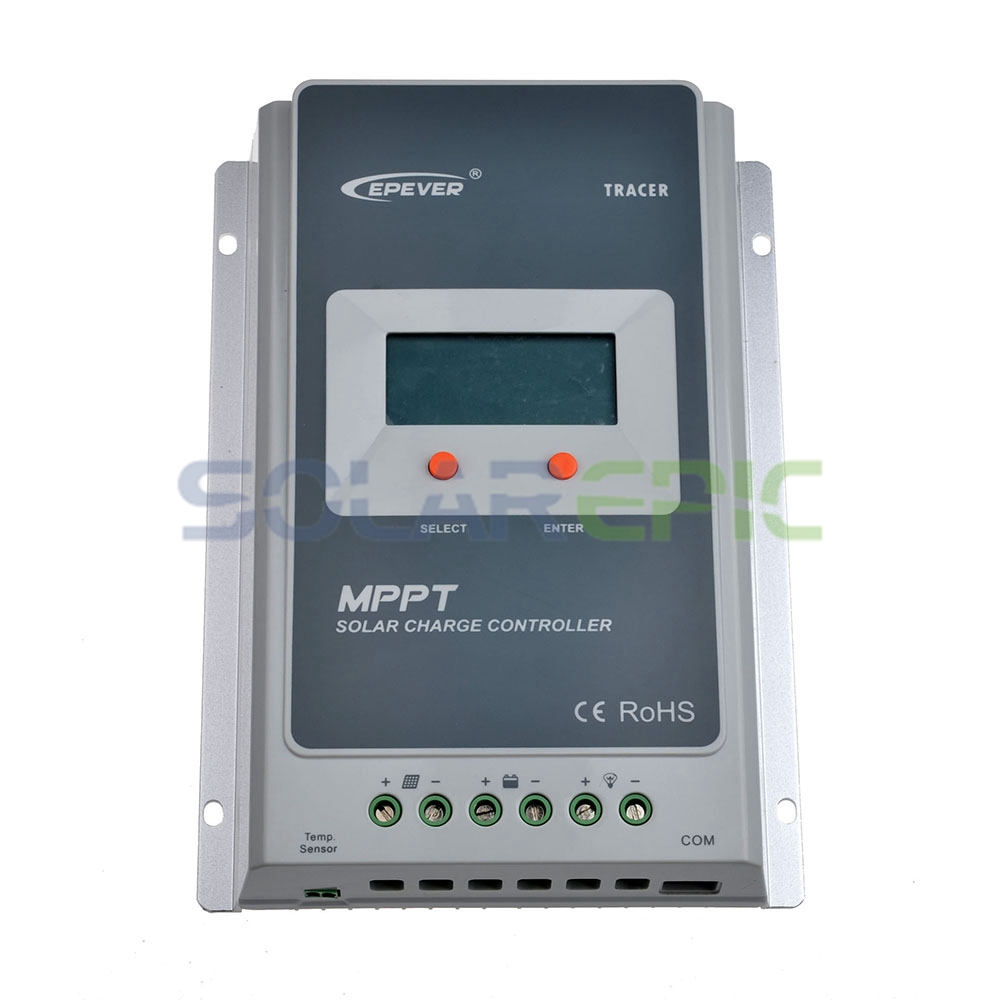 EPSOLAR 20A MPPT Solar Charge Controller Battery Regulator Max 100V PV Input 12V/24VDC Auto Solar Charger With LCD Display
